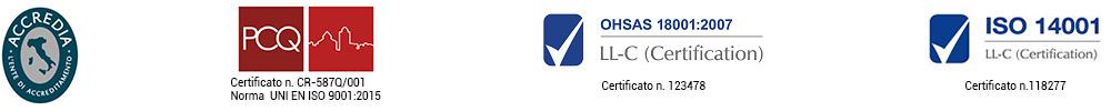Loghi e Certificati Magro Impianti Srl