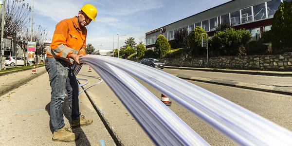 [Magro Impianti srl] Servizio di posa e installazione cavi fibra ottica